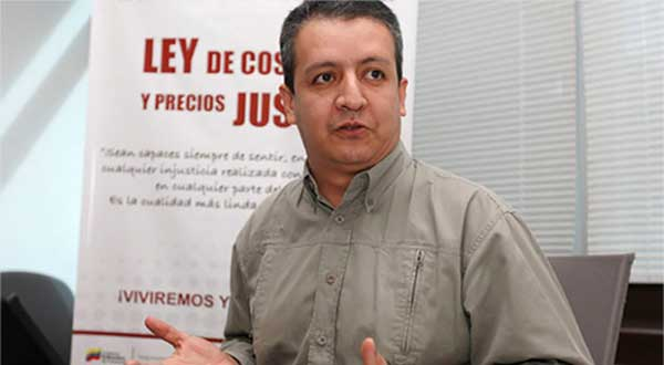 William Contreras, superintendente de Sundde