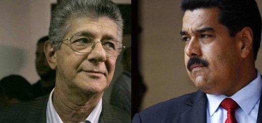 Ramos Allup y Nicolás Maduro|Imagen: TalCualDigital