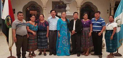 La diputada Aloha Núñez intercambió experiencias con el Consejo Superior de la Academia de Lenguas Mayas | Foto: @AlohaNueez