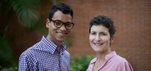 Erick Lezama y Anna Vacarella dos periodistas venezolanos que sobrevivieron al cáncer |Foto: Runrunes