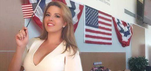 Alicia Machado ya es ciudadana estadounidense |Captura de pantalla