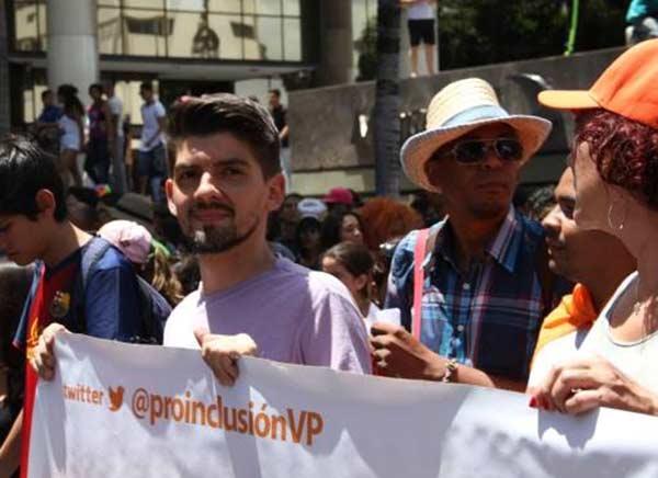 Coordinador del movimiento Proinclusión, Edgar Baptista | Foto: @edgarmanuel