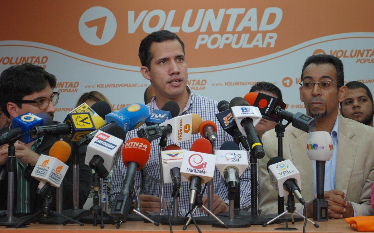 Diputado de la Asamblea Nacional, Juan Guaidó / Foto: Twitter