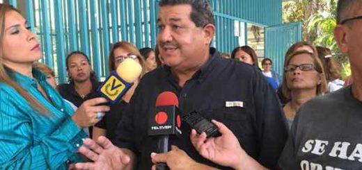 Secretario ejecutivo de Fetrasalud, Pablo Zambrano.
