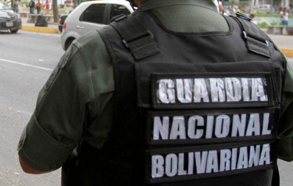 Secuestraron a GNB que estaba en punto de control | Foto referencial