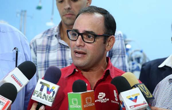 Juan Carlos Betancourt, nuevo alcalde de Puerto Cabello   Foto:ACN