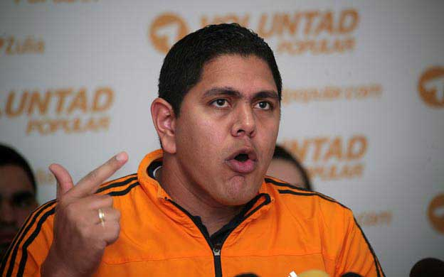 Lester Toledo, dirigente nacional del partido Voluntad Popular|Foto: Agencia