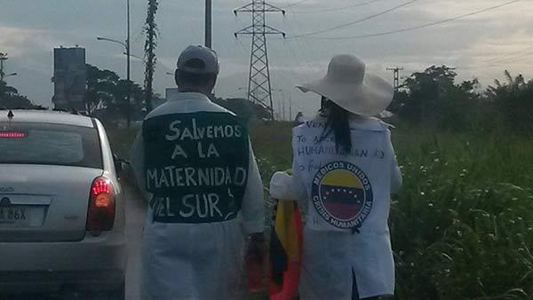 Médicos caminarán hasta La Gran Toma de Caracas |Foto: Twitter
