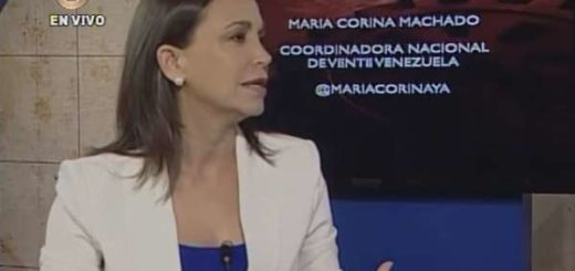 María Corina Machado | Foto: Captura de video