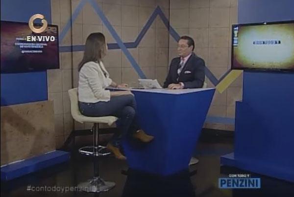 María Corina Machado en  Con Todo y Penzini | Foto: Captura de video