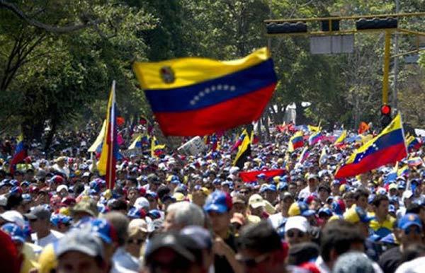 Las 10 razones para marchar en la Gran Toma de Caracas |Foto: AFP