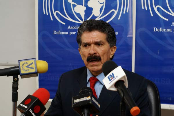 Rafael Narváez, defensor de los DDHH |Foto Cortesía