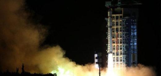 China lanzó satélite cuántico | Foto: XINHUA/AP