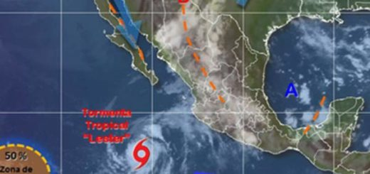 Tormenta Tropical Lester|Foto: @conaugua_clima