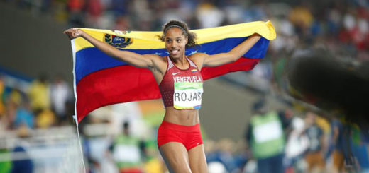 La atleta venezolana Yulimar Rojas gana medalla de plata en Río 2016 |Foto: EFE