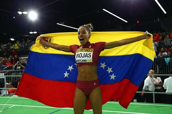 Yulimar Rojas | Foto: vía @deportesmix_ve