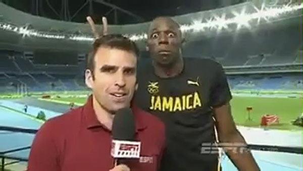 Usain Bolt | Foto: Captura de video