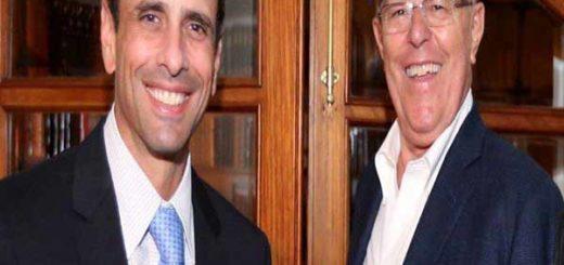 Imagen: Henrique Capriles y Kuczynski
