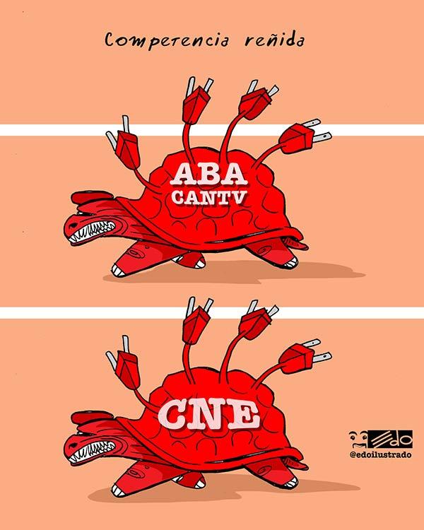 La caricatura de EDO |Crédito:  Eduardo Sanabria