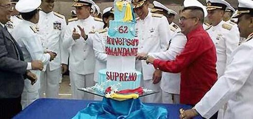 Celebración del cumpleaños de Chávez | Foto: @A_J_Perez