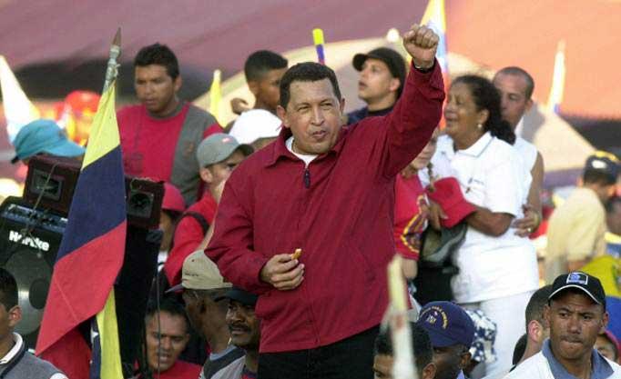 Hugo Chávez|Foto referencial