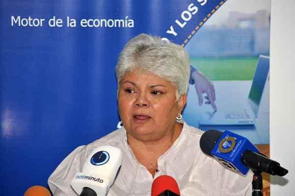 Cipriana Ramos, presidenta de Consecomercio
