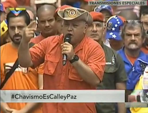 Diosdado Cabello | Foto: captura de video