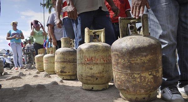 Escasez de gas doméstico | Foto referencial