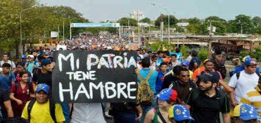 imagen: Protestas en Venezuela