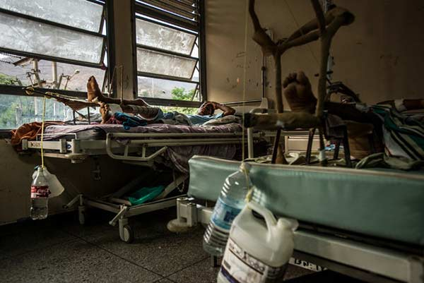 Hospital Luis Razetti de Barcelona | Meridith Kohut/  The New York Times