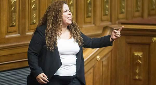 Ministra para los Asuntos Penitenciarios, Iris Varela / Foto: cortesía