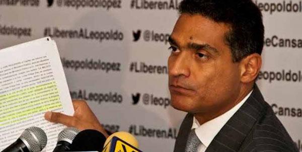 Juan Carlos Gutierrez,, abogado de Leopoldo López | Foto: Archivo