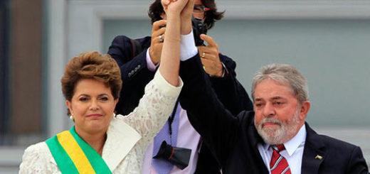 Dilma Rousseff y Lula Da Silva |Foto: EFE