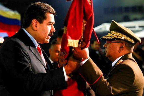 Maduro y Reverol   Foto: Archivo