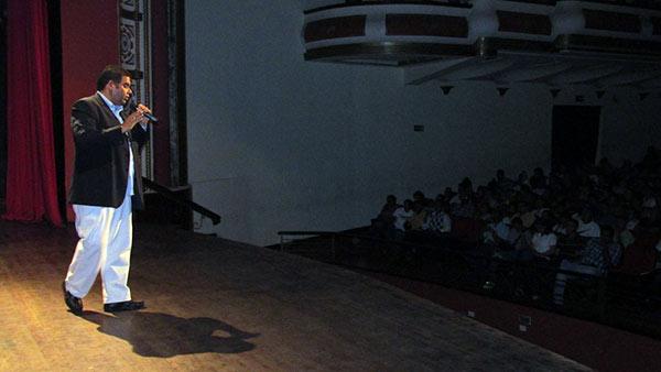 Marcos Ramírez en conversatorio | Foto: dgestionprogresista