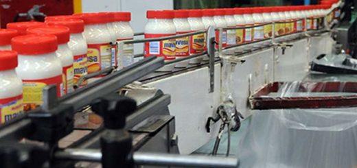 Producción de mayonesa Mavesa - Polar | Foto: referencial