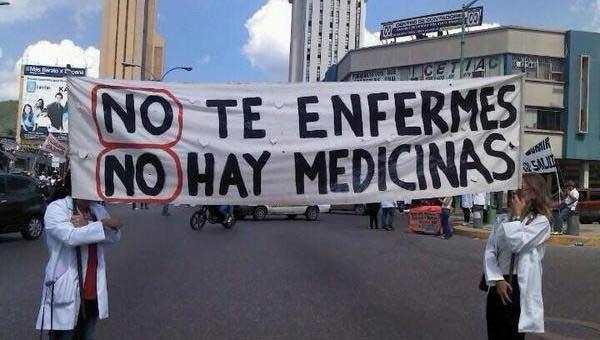 imagen: Hospitales sin insumos médicos