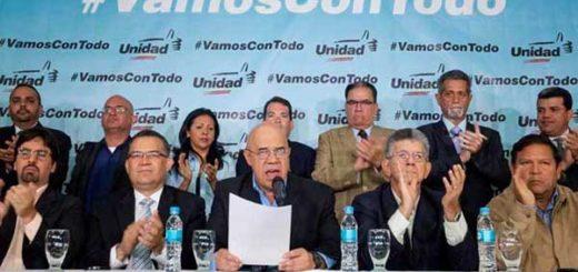 Mesa de la Unidad Democrática / Foto: archivo