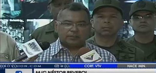 Néstor Reverol, ministro de Interior, Justicia y Paz |Foto: Captura