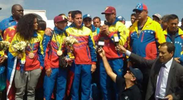 imagen: atletas olímpicos venezolanos