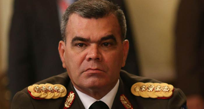 Vladimir Padrino López, Ministro para la Defensa  Foto: Cortesía