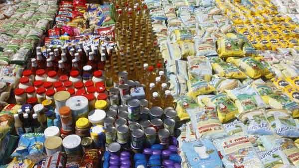 Sueldo mínimo solo alcanza para comprar 6 productos |Foto referencia