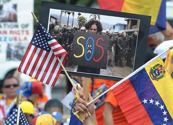 Venezolanos en Nueva York se unirán a la Toma de Caracas   Foto referencial