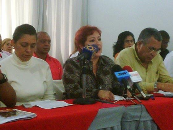 Cooordinadora nacional de UNETE, Ana Yánez   Foto referencial: UNETE CTR
