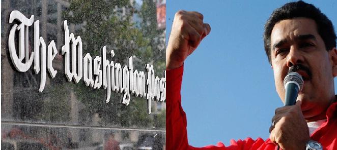 Washington Post y Nicolás Maduro