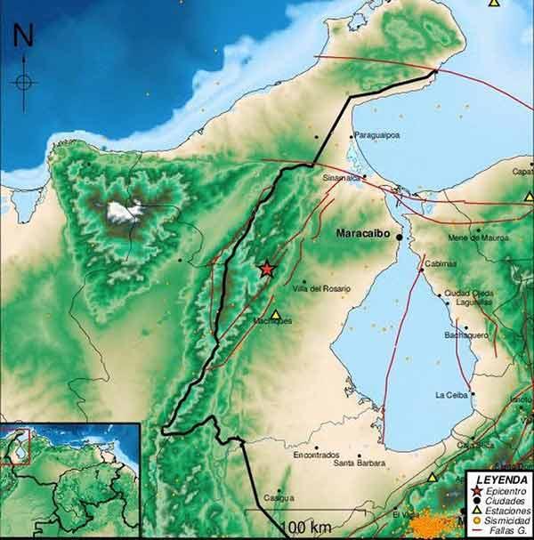 sismo en el estado Zulia