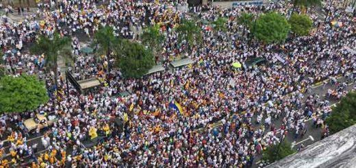 Toma de Caracas | Foto: @purposemine