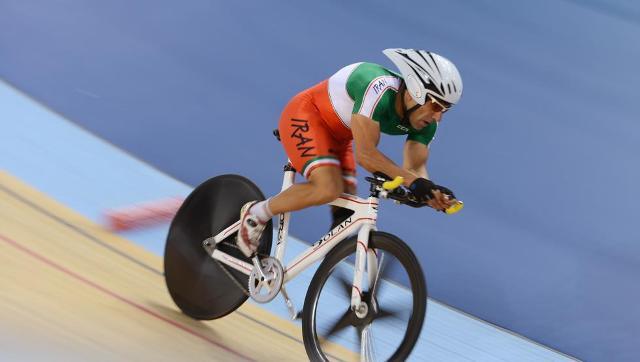 Ciclista iraní Bahman Golbarnezhad|Foto: cortesía