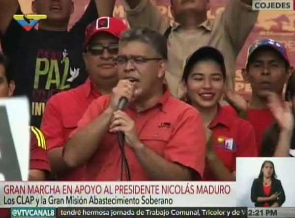 Elías Jaua   Foto: Captura de video