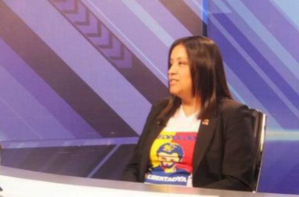 Gaby Arellano   Foto: Captura de video